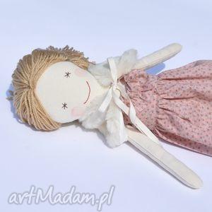 lalki lalka w różowej sukience, lalka, szmaciana, dziewczynka, urodziny