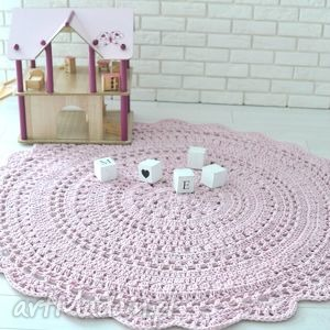handmade dywany dywan serweta 150cm