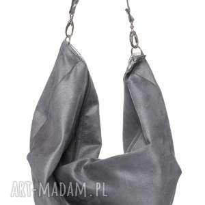 hand made duża torba oversize voor #szary