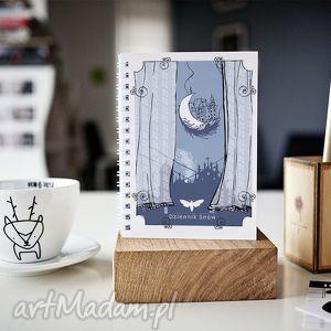 dziennik snów - osobisty sennik, prezent, notes, skoroszyt, zeszyt, a5