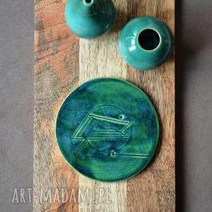 Wooden Love? Dekor ceramiczny z ptakiem