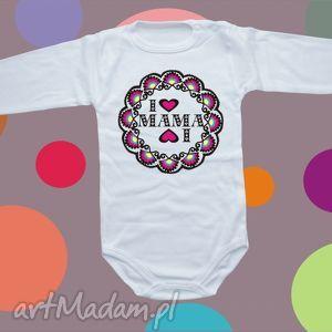babygiftshop body niemowlęce i love mama, body, bluzka, dziecko, prezent, niemowlę