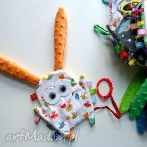 ręczne wykonanie zabawki uszak metkowiec - ptaszki
