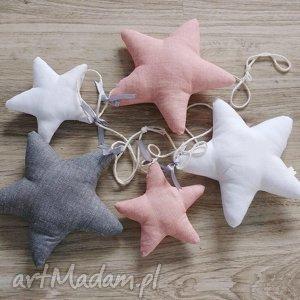 handmade pokoik dziecka girlanda gwiazdkowa na zamówienie