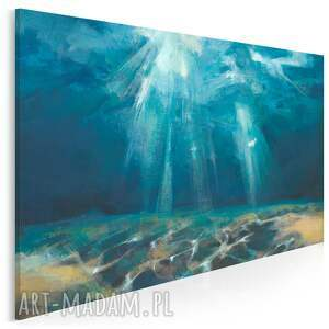 obraz na płótnie - akwen woda ocean morze dno 120x80 cm 700601
