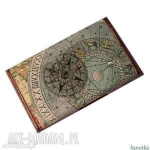Prezent RÓŻA WIATRÓW - wizytownik, etui na karty płatnicze, wizytówka, prezent, męski