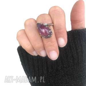 Ametryn, ametryn, pierścionek, srebro, 925