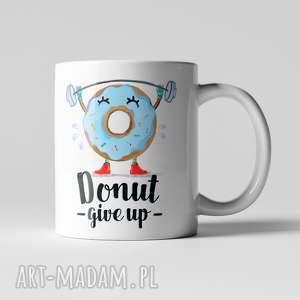 hand-made kubki kubek donut give up
