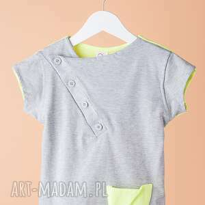 Koszulka CHK02L, koszulka, elegancka, luźna, skate, stylowa, chłopięca