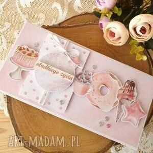 słodkiego życia 1, kartka, urodziny imieniny uroczystość