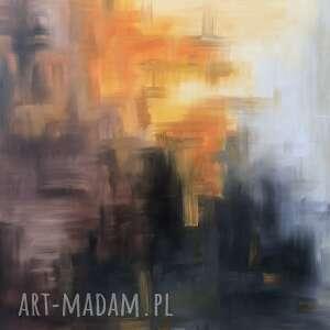 Weronika sobik obraz olejny, canvas, abstrakcja