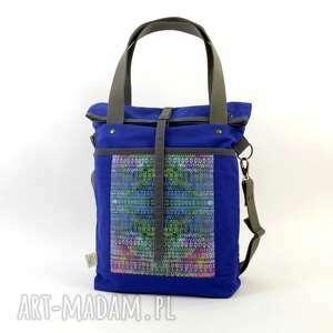 torba na ramię blue aztek, dziewczyna, święta, prezent, aztecki, boho, damska