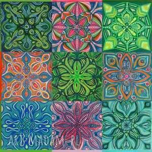 mozaika aragonia 3x3
