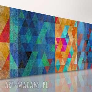 Abstrakcja Różne miejsca 120x50 - nowoczesny obraz na płótnie 02110 wysyłka w 24