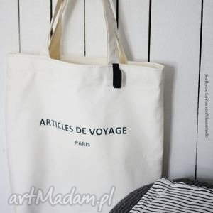 torba articles de voyage, torba, torebka, damska, ramię, plażowa, napis na ramię