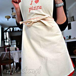 fartuszek kuchenny i love pizza, fartuch, fartuszek, kuchenny, kobiecy, love, pizza