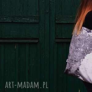 handmade na ramię torba mr. M mur/ uszy skóra naturalna