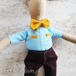 Pan królik maskotki peppofactory maskotka, zabawka, eko