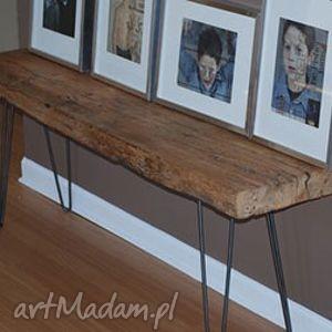 handmade ławka babati industrialna do loftu vintage