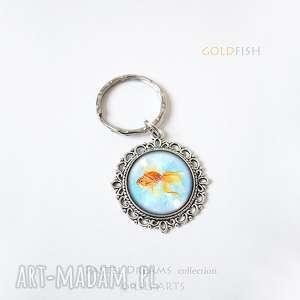 breloczek - złota rybka, brelok, breloczek, szczęście, unikatowy