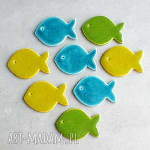 rybka - magnes, rybka, morskie, kuchnia, lodówka, dekoracja, prezent na
