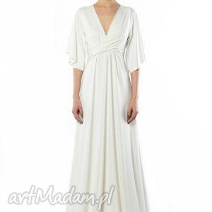 handmade sukienki magdalena maxi white