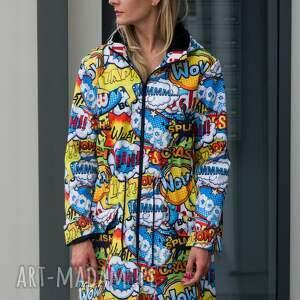 kurtka parka, płaszcz damski, przeciwdeszczowy, jacket, płaszcz