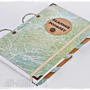 ręczne wykonanie scrapbooking albumy planner podróży - pamiętnik podróży