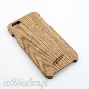 etui drewniane do iphone 6 plus 6s dąb, etui, futerał, iphone, case