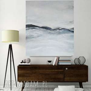 ABSTRAKCJA-obraz akrylowy formatu 50/60 cm, abstrakcja, akryl, obraz,