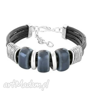 3 beads - graphite