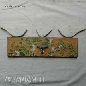 hand-made wieszaki wieszak ze starej szuflady