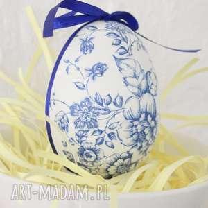 Pisanka wielkanocna decoupage, folk, ludowy, porcelana, jajko, pisanka