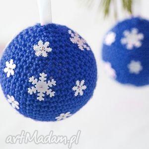 pomysł na świąteczny upominek Zestaw 2 bombek choinkę, dekoracje, bożenarodzenie