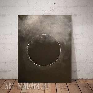 zaĆmienie-obraz akrylowy formatu 30/40 cm, zaćmienie, akryl, obraz