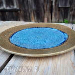 Talerz ozdobny - patera ceramiczna ceramika tyka ceramika