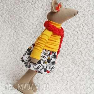 słoneczna przyjaciółka - myszka, wyjątkowe, roczek, miki, chrzesy