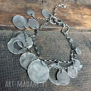 pod choinkę prezent, bransoletka srebrna, oksydowana