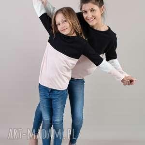 komplet takich samych bluz dla mamy i córki, bluzy, kompletbluz, 3kolory