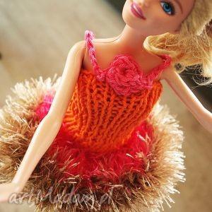 hand-made lalki sukienka barbie