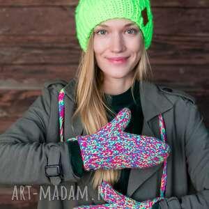 hand-made rękawiczki kolorki