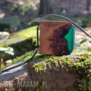 Wisior Sęk z żywicą [Dąb], drewno, wisior, naszyjnik, kamień, las, góry