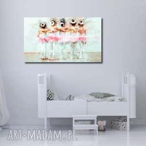 Obraz XXL BALETNICA 13 -120x70cm design na płótnie baletnice, obraz, płotnie