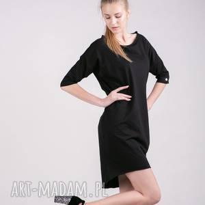 sukienki sukienka kristal w kolorze czerni, sukienki, dres, t shirt, spodnie