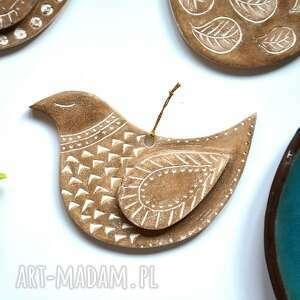 prezent na święta, kurka ceramiczna, kurka, kura, ptak, folk