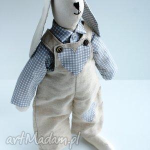 pod choinkę prezent ZAJĄC Z MARCHEWKĄ, zając, wielkano, królik, święta, szmacianka