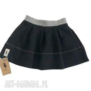 spódniczka black, spódniczka, szkoła, przedszkole, dziewczynka, bawełna, czarna, pod