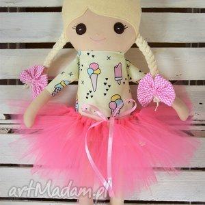 hand-made lalki szmacianka, szmaciana laleczka w tutu