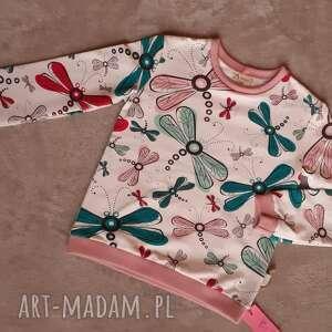 ręcznie robione bluza dziewczęca roz. 116