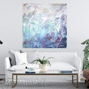 obraz abstrakcja 90x90